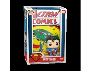 DC Action Comics Funko POP Comic Cover Vinile Figura Superman 9 cm