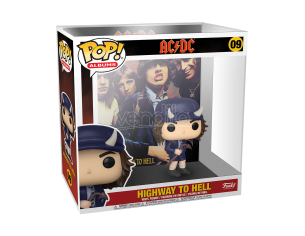 AC/DC Funko POP Album Musica Vinile Figura Highway to Hell 9 cm