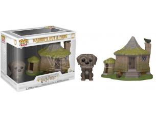 Harry Potter Funko POP Film Vinile Figura Capanna di Hagrid con Thor 12 x 10 cm