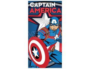 Marvel Captain America Microfibra Telo Mare Marvel