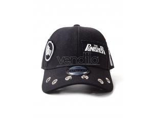 Marvel - Punisher Grunge Cap Con Patches Difuzed