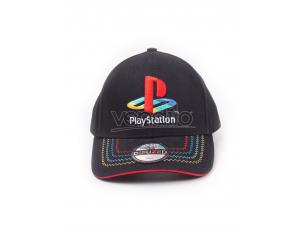 Playstation - Retro Logo Cappellino Regolabile Difuzed