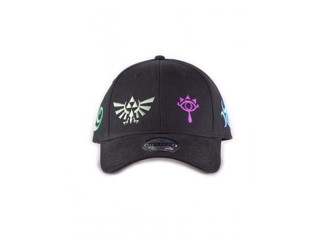 Zelda - Color Symbols Cappellino Regolabile Difuzed