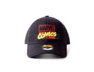 Marvel Comics - 3d Embroidery Logo Cappellino Regolabile Difuzed