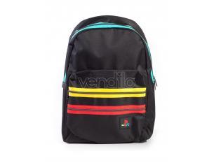 Playstation - Black Retro Logo Zaino Difuzed