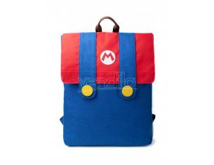 Super Mario - Mario Denim Flap della Tuta Zaino Difuzed
