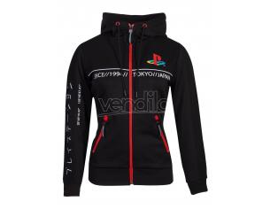 Playstation - Cut & Sew Women's Tech Felpa Con Cappuccio Difuzed