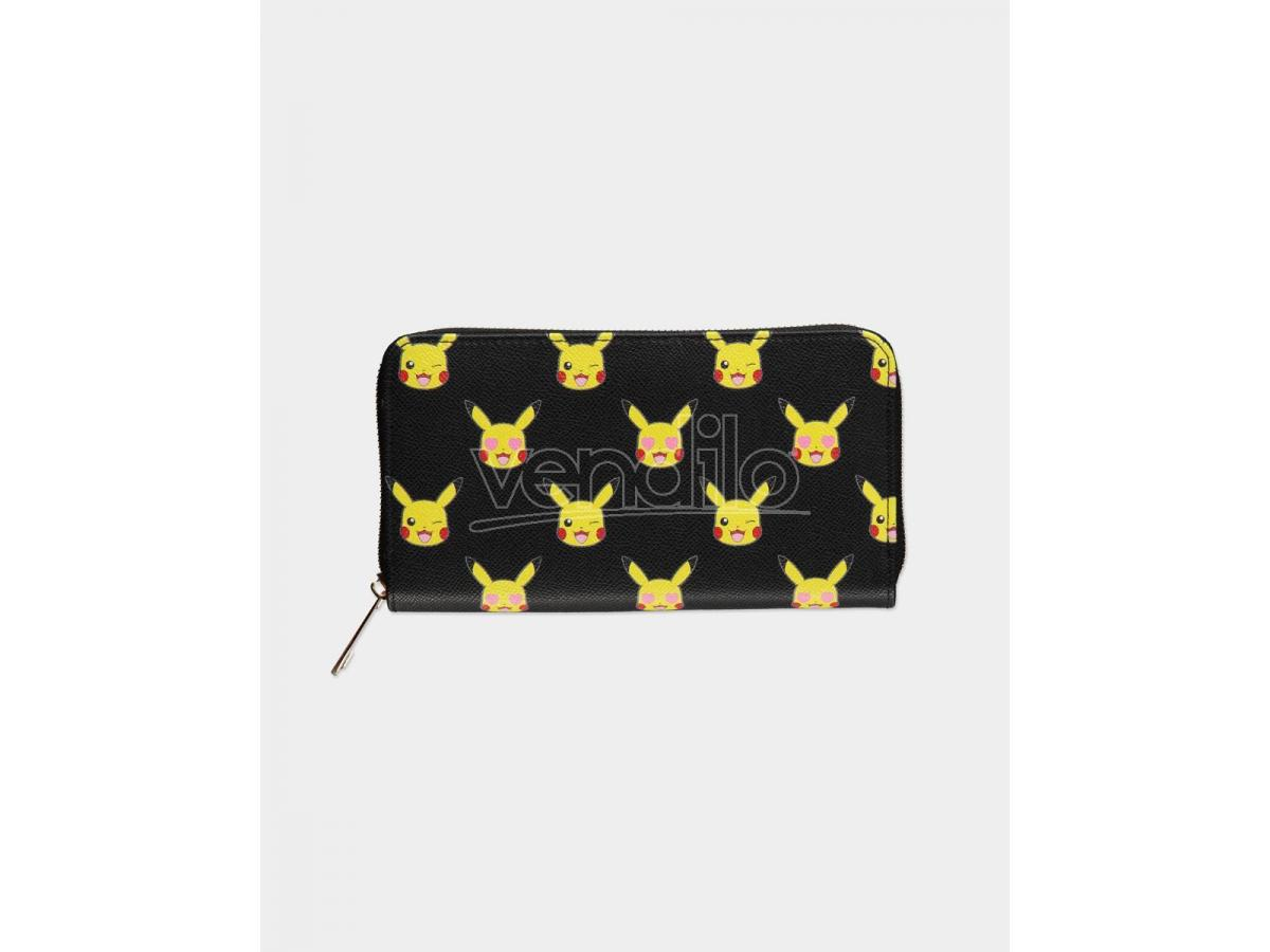 Pokémon - Portafoglio con Cerniere Pikachu Aop 20 x 3 x 11 cm Difuzed