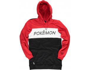 Pokémon - Colour Block Men's Felpa Con Cappuccio Difuzed