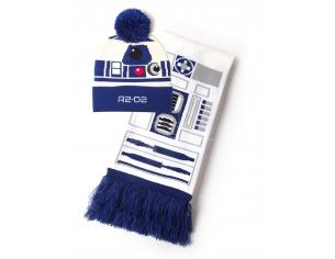 Star Wars - R2-d2 Beanie & Sciarpa Regalo Set Difuzed
