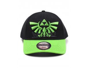 Zelda - Hyrule Crest Logo Curved Bill Cap Difuzed