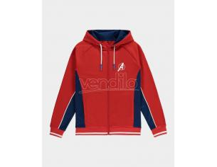 Marvel - Avengers Men's Hooded Track Shirt Difuzed