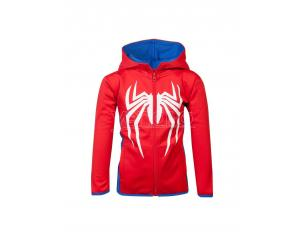 Marvel - Spider-man Bambino Teq Felpa Con Cappuccio Difuzed