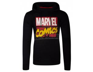 Marvel Comics - Marvel Comics Logo Men's Felpa Con Cappuccio Difuzed