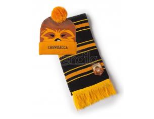 Star Wars - Chewbacca Beanie & Sciarpa Regalo Set Difuzed