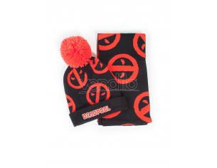 Deadpool - Simbolo Beanie & Sciarpa Regalo Set Difuzed