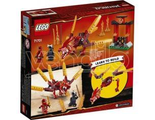 LEGO NINJAGO 71701 - DRAGONE DEL FUOCO DI KAI