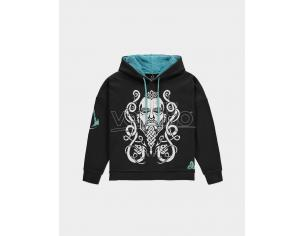 Assassin's Creed Valhalla - Women's Felpa Con Cappuccio Con Teddy Hood Difuzed