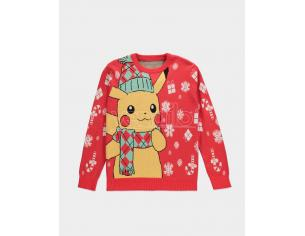 Pokémon - Knitted Natale Jumper Difuzed