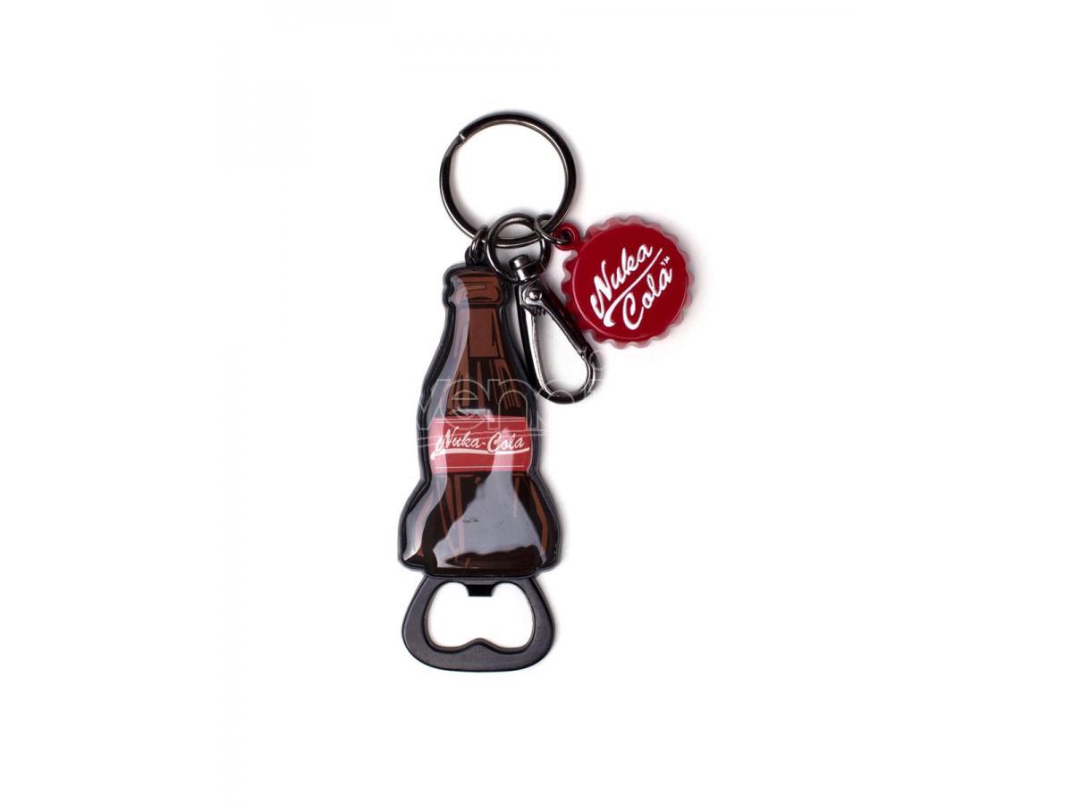 Fallout - Nuka Cola Bottiglia Novelty Metal Portachiavi Difuzed