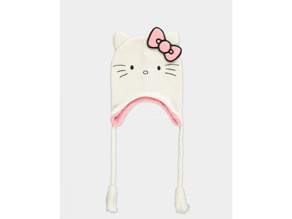 Hello Kitty - Novelty Sherpa Beanie Difuzed