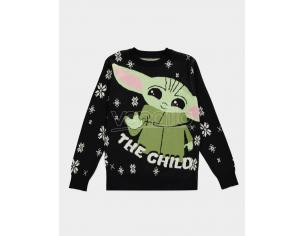 The Mandalorian - The Child Knitted Natale Jumper Difuzed
