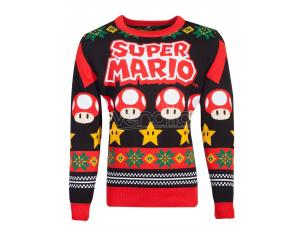 Nintendo - Super Mario Knitted Natale Jumper Difuzed
