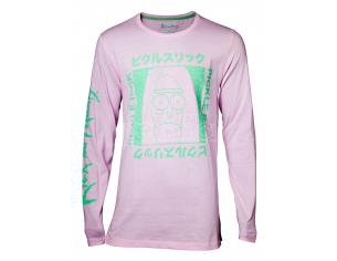 Rick E Morty - Japan Pickle Men's Longsleeve Difuzed