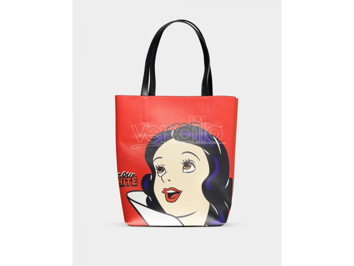 Snow White - Shopper Bag Placed Print Difuzed