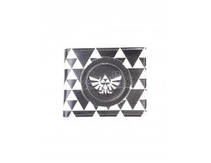 Nintendo - Zelda Black & White Men's Portafoglio Pieghevole Difuzed