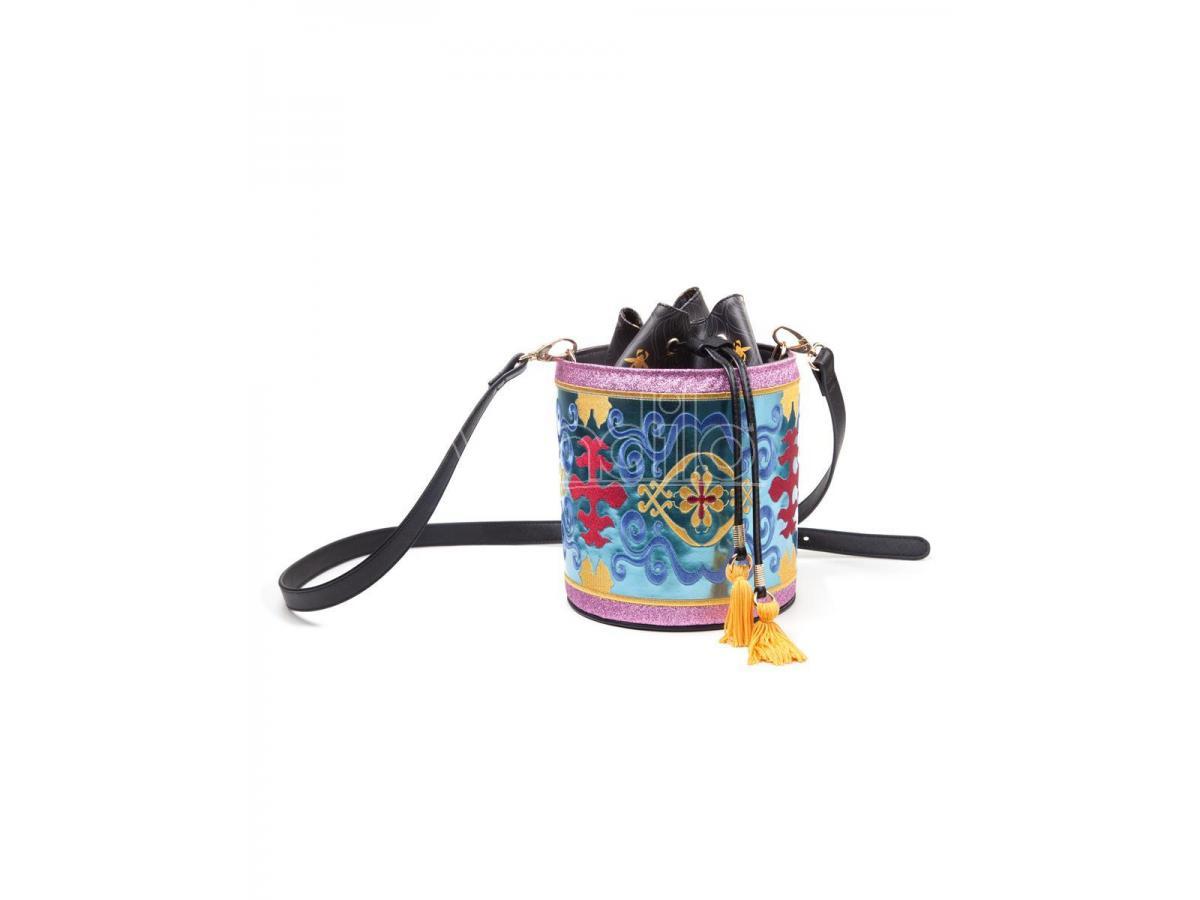 Disney - Aladdin - Magic Carped Glitter Drawstring Bucket Bag Difuzed