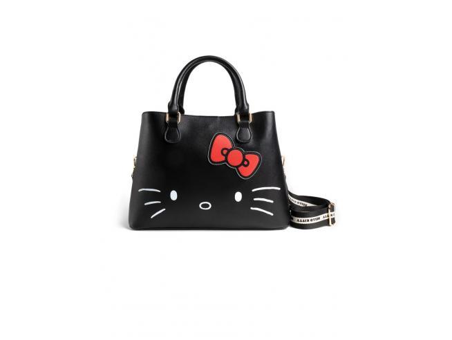 Hello Kitty - Shopper Bag Con Hello Kitty Debossing E Print Difuzed