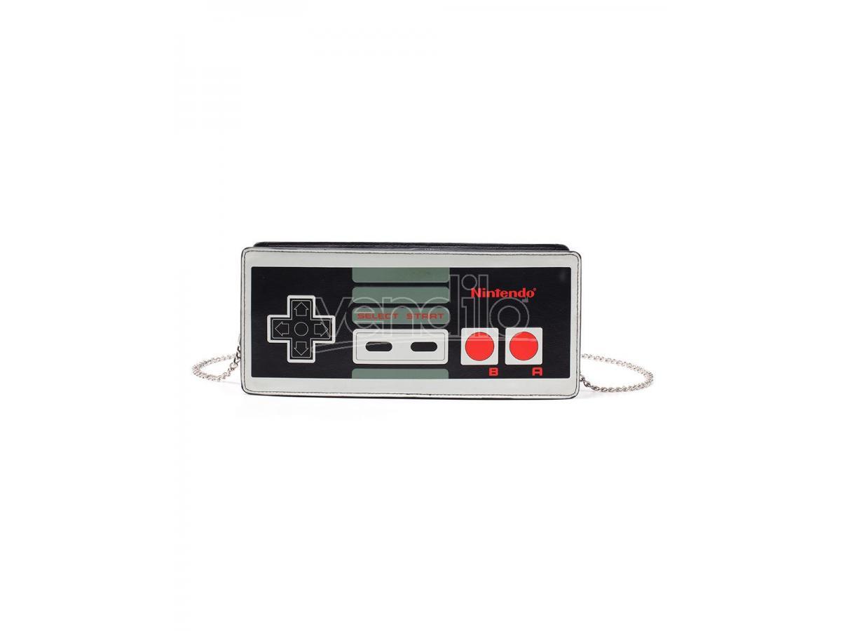 Nintendo - Nes Controller Ladies Borsellino Difuzed