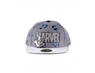 Marvel - Logo Aop Cappellino Snapback Difuzed