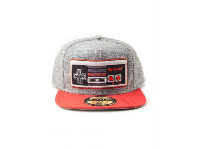 Nintendo - Nes Controller Cappellino Snapback Difuzed