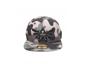 Zelda - Screen Print Camouflage 3d Embroidery Cappellino Snapback Difuzed