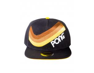 Atari - Pong Retro Striped Cappellino Snapback Difuzed