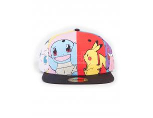 Pokémon -  Multi Pop Art Cappellino Snapback Difuzed