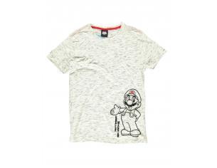 Nintendo - Super Mario Space Dye T-shirt Uomo Difuzed
