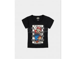 Nintendo - Super Mario T-shirt Donna Difuzed