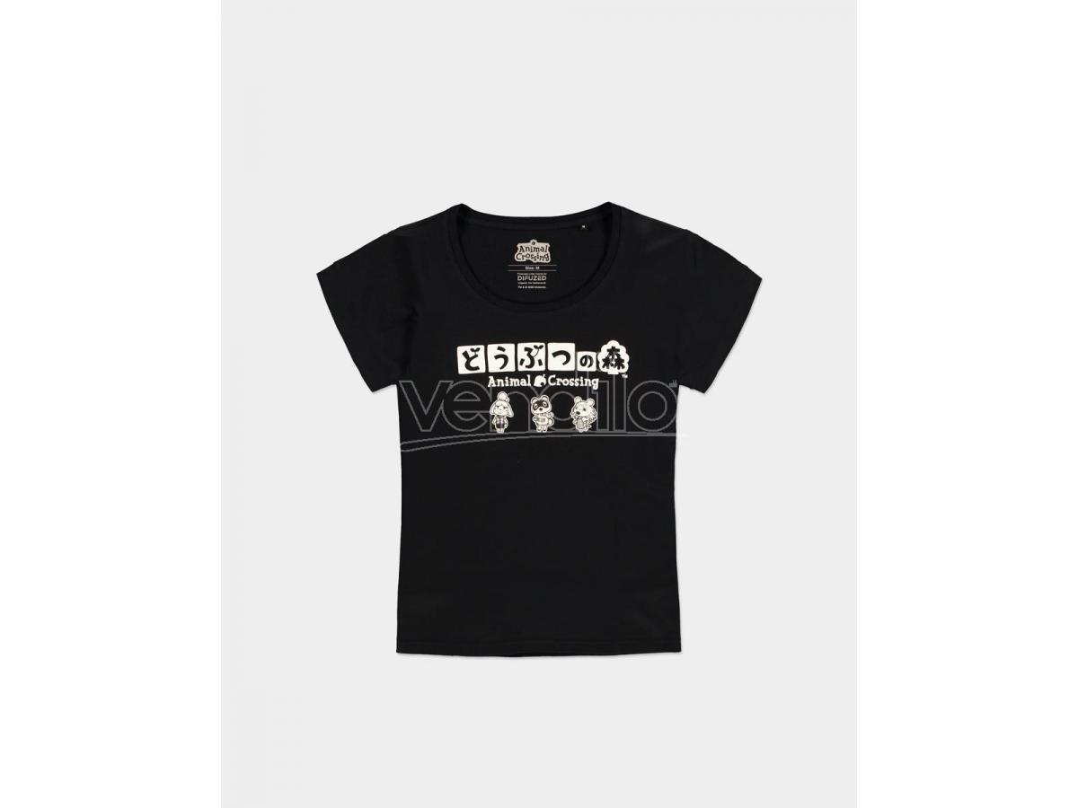 Nintendo - Animal Crossing T-shirt Donna Difuzed