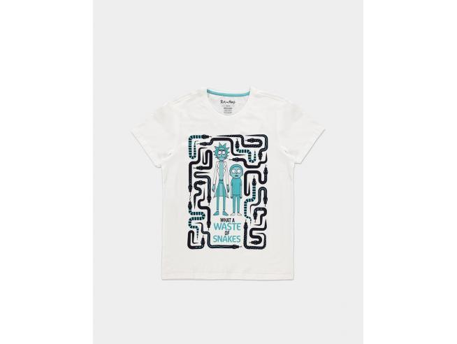 Rick & Morty - Waste Of Snakes - T-shirt Uomo Difuzed