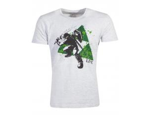 Zelda - Splatter Triforce T-shirt Uomo Difuzed