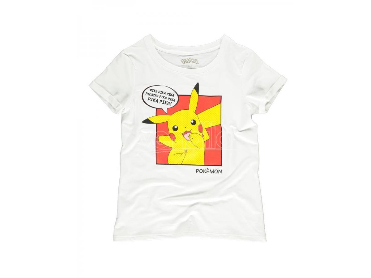 Pokémon - Pika Pika Pika T-shirt Donna Difuzed