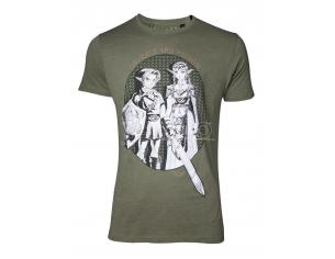 Zelda - Link & Princess Zelda T-shirt Difuzed
