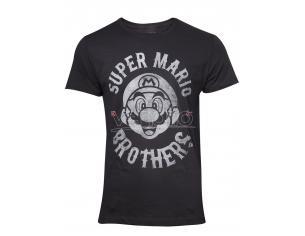 Nintendo - Super Mario Biker T-shirt Uomo Difuzed