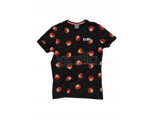 Sesamestreet - Elmo AOP T-shirt Difuzed