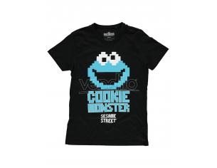 Sesamestreet - Cookie Monster T-shirt Uomo Difuzed