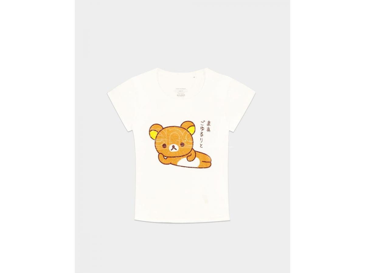 Rilakkuma - Katakana - Female T-shirt Difuzed