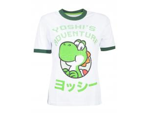 Nintendo Super Mario Yoshi T-shirt Donna Difuzed
